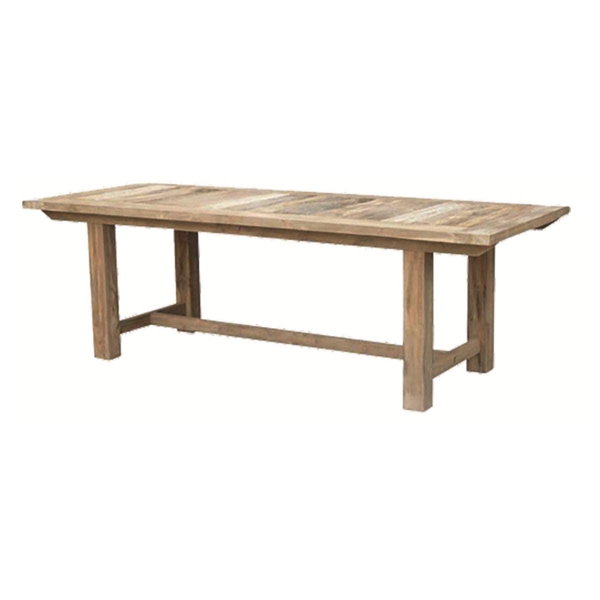 TABLE RALLONGE FERME TECK MANUFACTORI